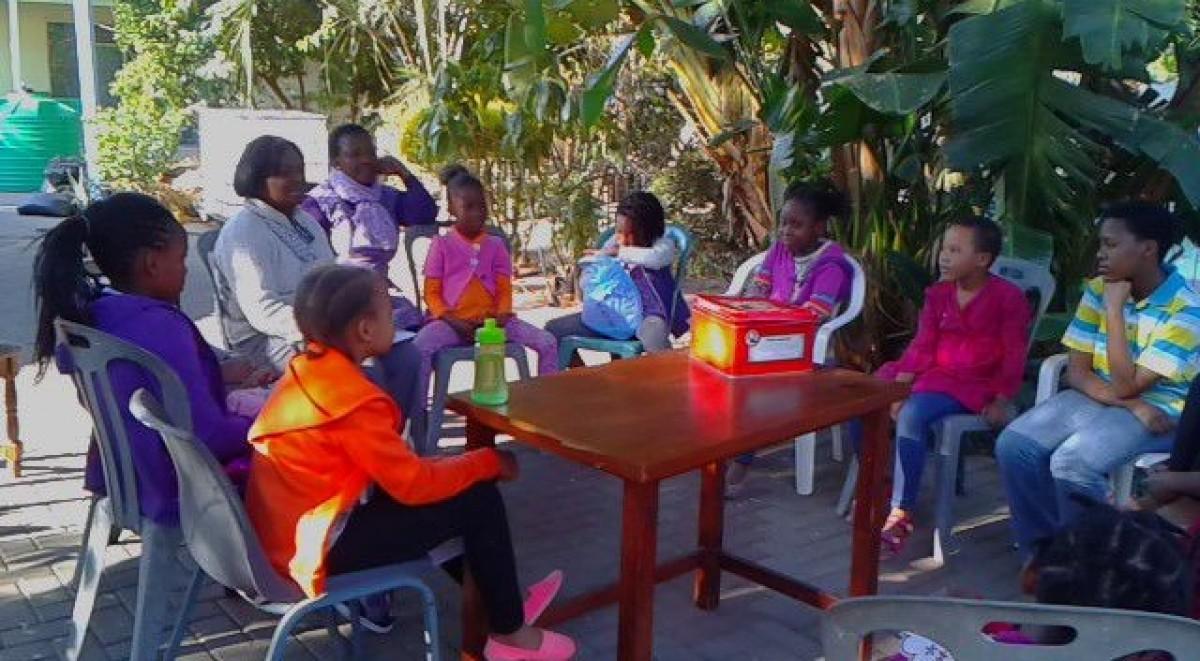 Setting Up The Motse Motheo Nursery School Botswana Gaborone