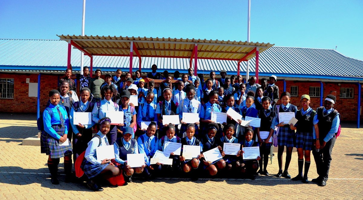"""Support for """"Protea Glen High School"""" – Soweto, South Africa"""